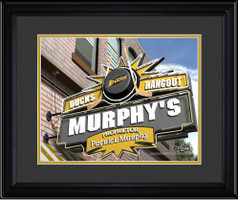 Anaheim Ducks Personalized Pub Room Sign