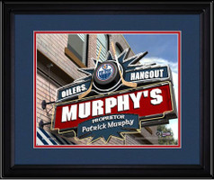 Edmonton Oilers Personalized Pub Room Sign