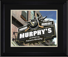 Pittsburgh Penguins Personalized Pub Room Sign