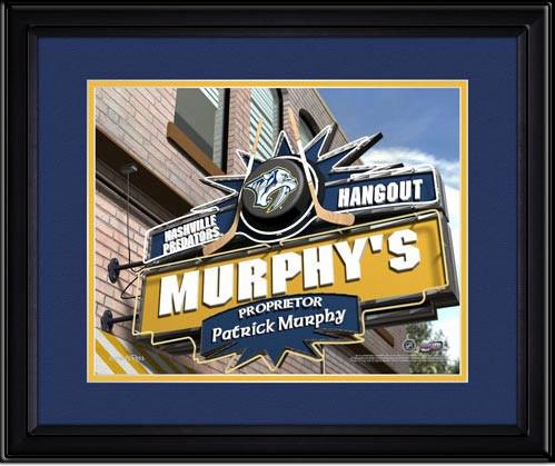 Nashville Predators Personalized Pub Room Sign
