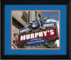 New York Rangers Personalized Pub Room Sign