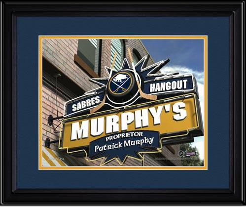 Buffalo Sabres Personalized Pub Room Sign