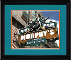 San Jose Sharks Personalized Pub Room Sign