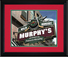 Minnesota Wild Personalized Pub Room Sign