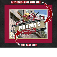 San Francisco 49ers Personalized Pub Room Sign