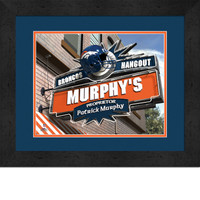 Denver Broncos Personalized Pub Room Sign