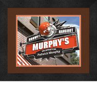 Cleveland Browns Personalized Pub Room Sign