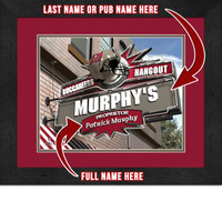 Tampa Bay Buccaneers Personalized Pub Room Sign