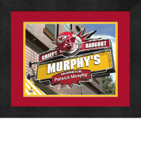 Kansas City Chiefs Personalized Pub Room Sign