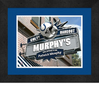 Indianapolis Colts Personalized Pub Room Sign