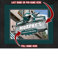 Philadelphia Eagles Personalized Pub Room Sign