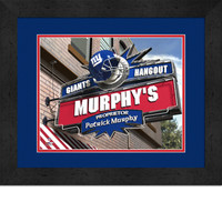 New York Giants Personalized Pub Room Sign