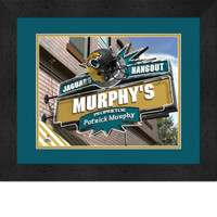 Jacksonville Jaguars Personalized Pub Room Sign