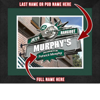 New York Jets Personalized Pub Room Sign