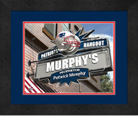 New England Patriots Personalized Pub Room Sign