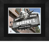 Oakland Raiders Personalized Pub Room Sign