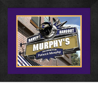 Baltimore Ravens Personalized Pub Room Sign