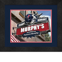 Houston Texans Personalized Pub Room Sign