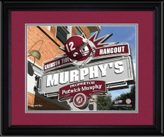Alabama Crimson Tide Personalized Game Room Sign