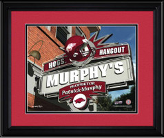 Arkansas Razorbacks Personalized Game Room Sign