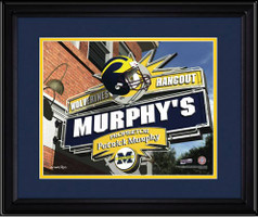 Michigan Wolverines Personalized Fan Room Poster