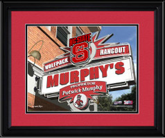 North Carolina State Personalized Fan Room Poster