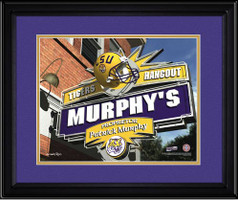 LSU Tigers Personalized Game Room Sign