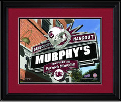 South Carolina Gamecocks Personalized Game Room Sign