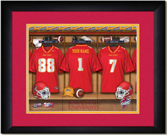 Iowa State Cyclones Personalized Locker Room Print