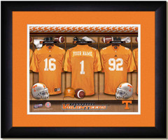 Tennessee Vols Personalized Locker Room Print