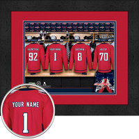 Washington Capitals Personalized Locker Room Print