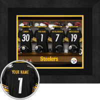 Pittsburgh Steelers Personalized Locker Room Poster