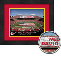 Kansas City Chiefs Stadium Sign Your Day at Arrowhead Stadium