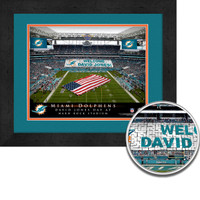 Miami Dolphins Personalized Stadium Sign Your Day at Hard Rock Stadium