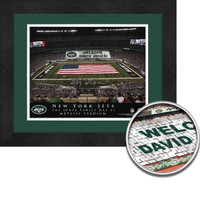 New York Jets Personalized Stadium Sign Your Day at MetLife Stadium
