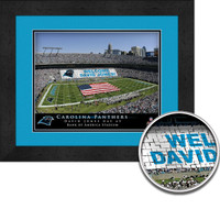 Panthers Personalized Stadium Sign Your Day at Bank of America Stadium