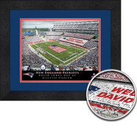 Patriots Personalized Stadium Sign Your Day at Gillette Stadium