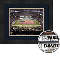 Saints Personalized Stadium Sign Your Day at Louisiana Superdome