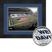 Seahawks Personalized Stadium Sign Your Day at CenturyLink Field