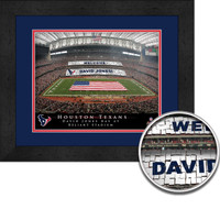 Houston Texans Personalized Stadium Sign Your Day at Reliant Stadium