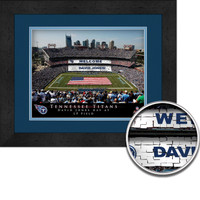Tennessee Titans Personalized Stadium Sign Your Day at LP Field