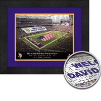 Vikings Personalized Stadium Sign Your Day at Mall of America Field
