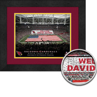 Cardinals Personalized Stadium Sign Your Day at Phoenix Stadium