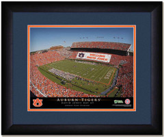 Auburn Tigers Stadium Sign Your Day at the Jordan Hare Stadium