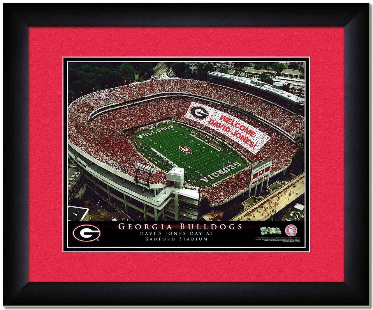 621f8c31f Georgia Bulldogs Personalized Stadium Poster