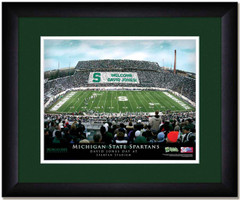 MSU Spartans Personalized Stadium Sign Your Day at Spartan Stadium