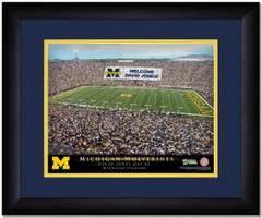 Michigan Wolverines Stadium Sign Your Day at Michigan Stadium