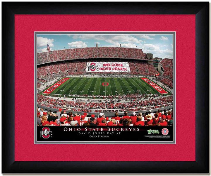 Ohio State Personalized Stadium Sign Your Day at Ohio Stadium