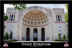 Ohio Stadium Grand Rotunda Framed Picture