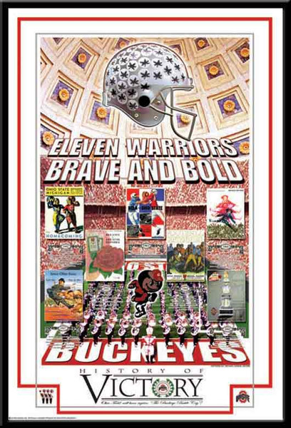 Ohio State History of Victory Series Poster